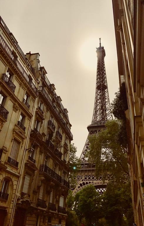 Eiffel Tower, image: Ilonka Molijn, private - things to do in Paris