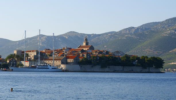Croatia Babymoon at Lešic Dimitri Palace - Korčula town