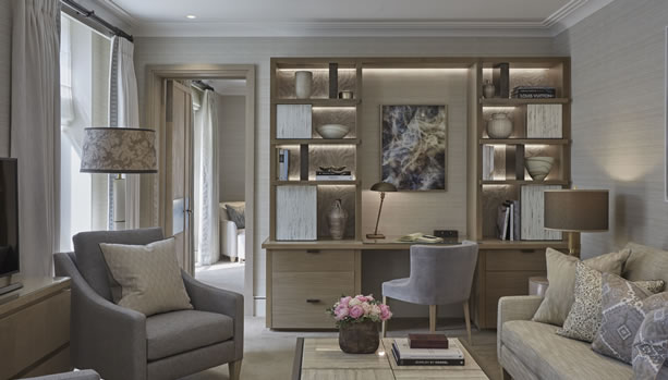 The Berkeley London - Crescent Suite living room
