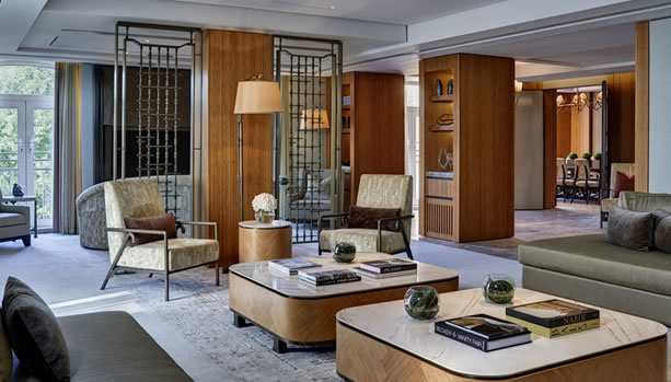 The Berkeley London - Opus Suite sitting room