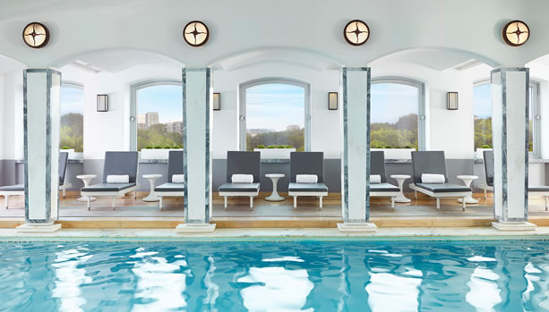 The Berkeley London - Rooftop Pool - Luxury Babymoon