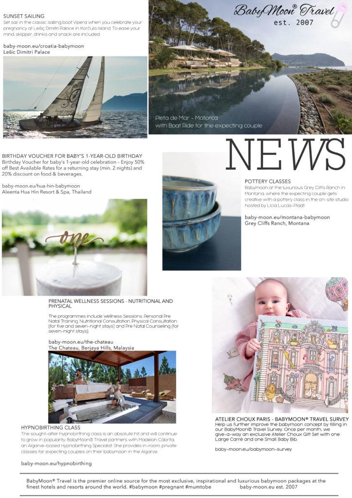 Babymoon News 2018 Trends - Best Babymoon Destinations