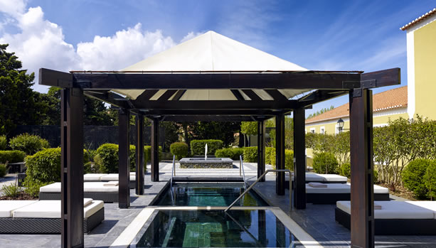 Sintra Babymoon at Penha Longa Resort - Gazebo at the Spa