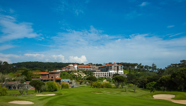Sintra Babymoon at Penha Longa Resort - View from Golf Course