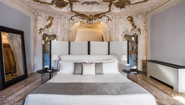 Aman Venice, Italy. Venice Babymoon. Alcova Tiepolo Suite