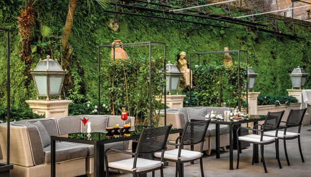 Hassler Roma - Palm Court Restaurant