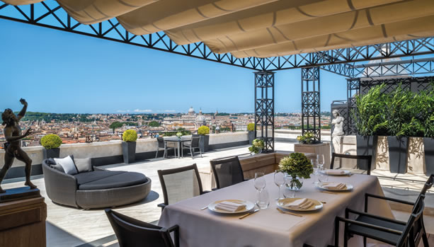 Hassler Roma - Penthouse Suite Villa Medici Terrace