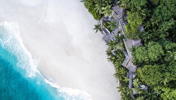 North Island - Seychelles Babymoon - Villa North Island, aerial