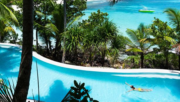 North Island - Seychelles Babymoon - Infinity Pool