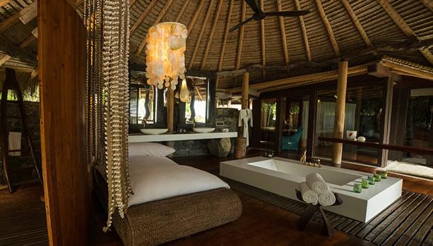 North Island - Seychelles Babymoon - Presidential Villa, bathroom
