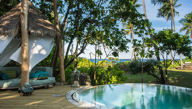 North Island - Seychelles Babymoon - Presidential Villa, pool