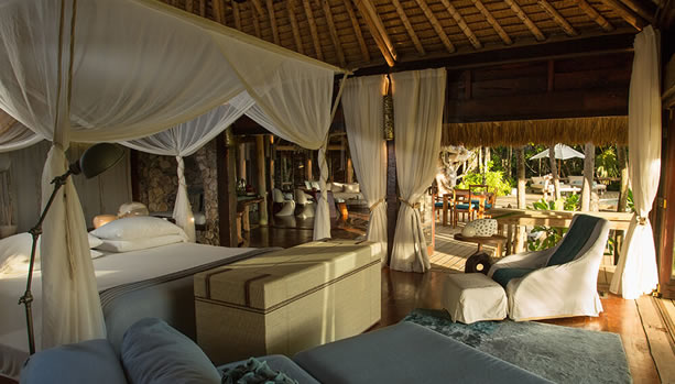 North Island - Seychelles Babymoon - Presidential Villa, bedroom