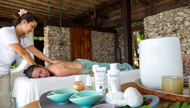 North Island - Seychelles Babymoon - Spa