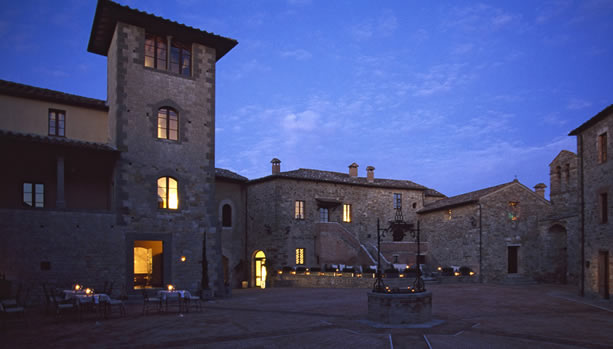 Tuscany Babymoon at Castel Monastero Resort & Spa