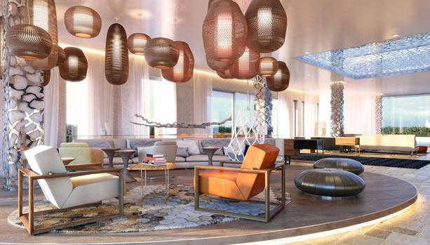Ibiza Babymoon at 7Pines Resort Ibiza - lobby