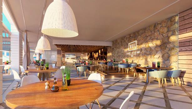 Ibiza Babymoon at 7Pines Resort Ibiza - The View Restaurant