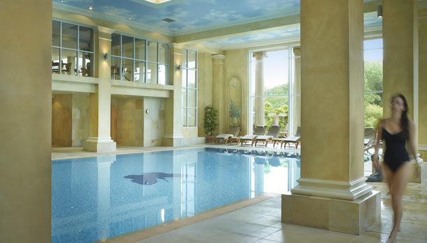 Hampshire Babymoon at Chewton Glen Hotel & Spa, Indoor Pool