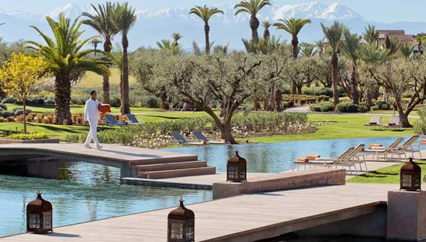 Marrakech Babymoon at Fairmont Royal Palm Marrakech