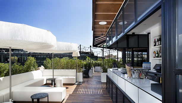 Barcelona Babymoon at Monument Hotel - Verbena Rooftop Bar