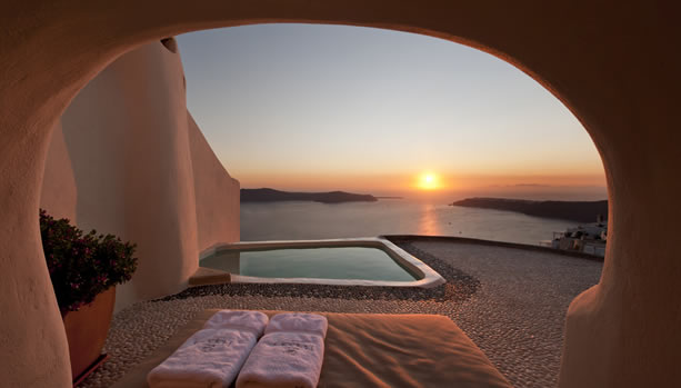 Santorini Babymoon at Kapari Natural Resort