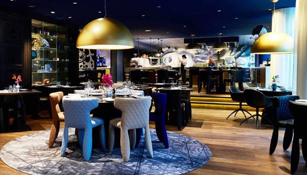 Amsterdam Babymoon at Andaz Amsterdam, Prinsengracht - Bluespoon Restaurant