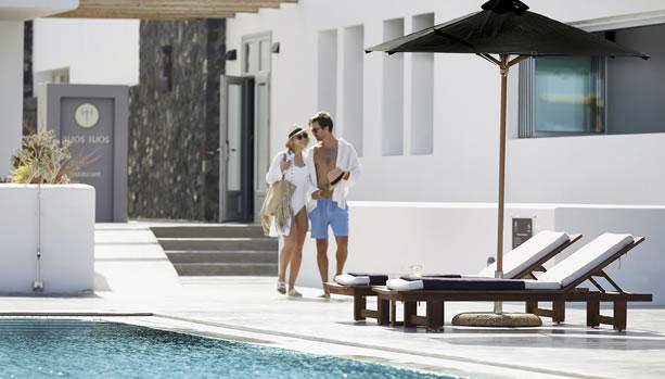 Santorini Babymoon at Santo Maris Oia Luxury Suites & Spa