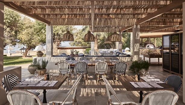 Crete Babymoon at Cretan Malia Park - Almyra Restaurant