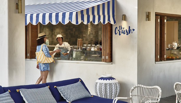 Crete Babymoon at Cretan Malia Park - The Crush Ice Cream