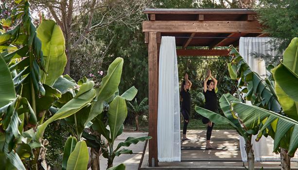 Crete Babymoon at Cretan Malia Park - Yoga