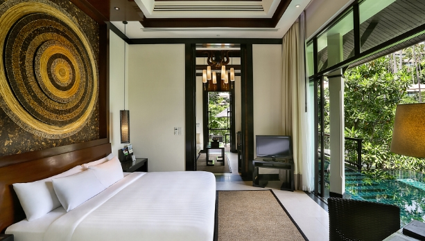 GUEST ROOM DELUXE AT BANYAN TREE SAMUI