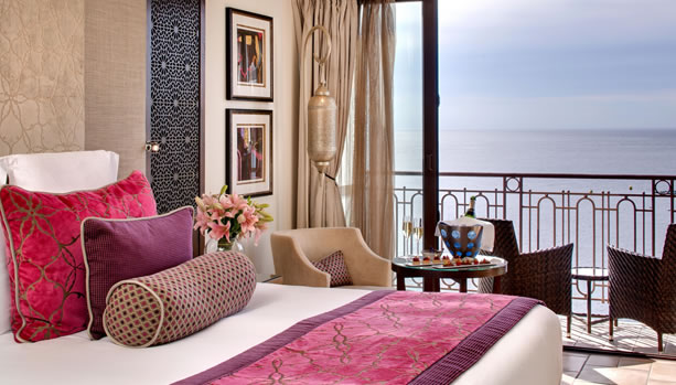 French Riviera Babymoon at Tiara Miramar Beach Hotel & Spa, French Riviera. Deluxe Room with Sea View