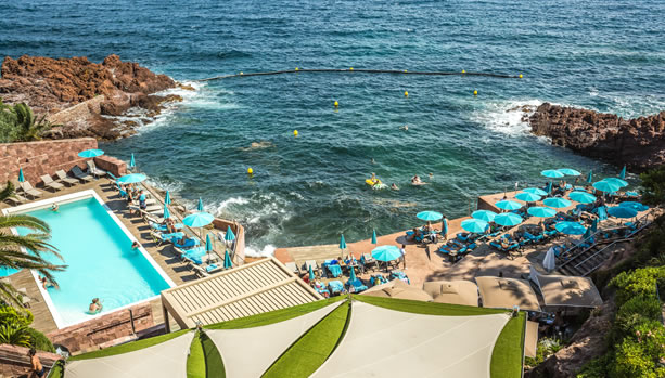French Riviera Babymoon at Tiara Miramar Beach Hotel & Spa, French Riviera.