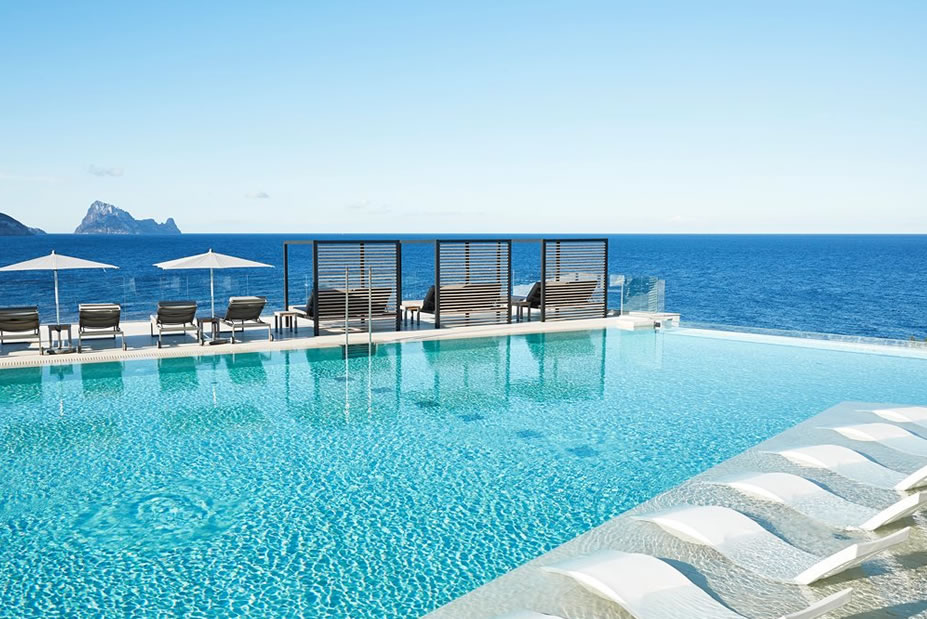 The Hippest Island for a Babymoon. Check-in at 7Pines Resort Ibiza