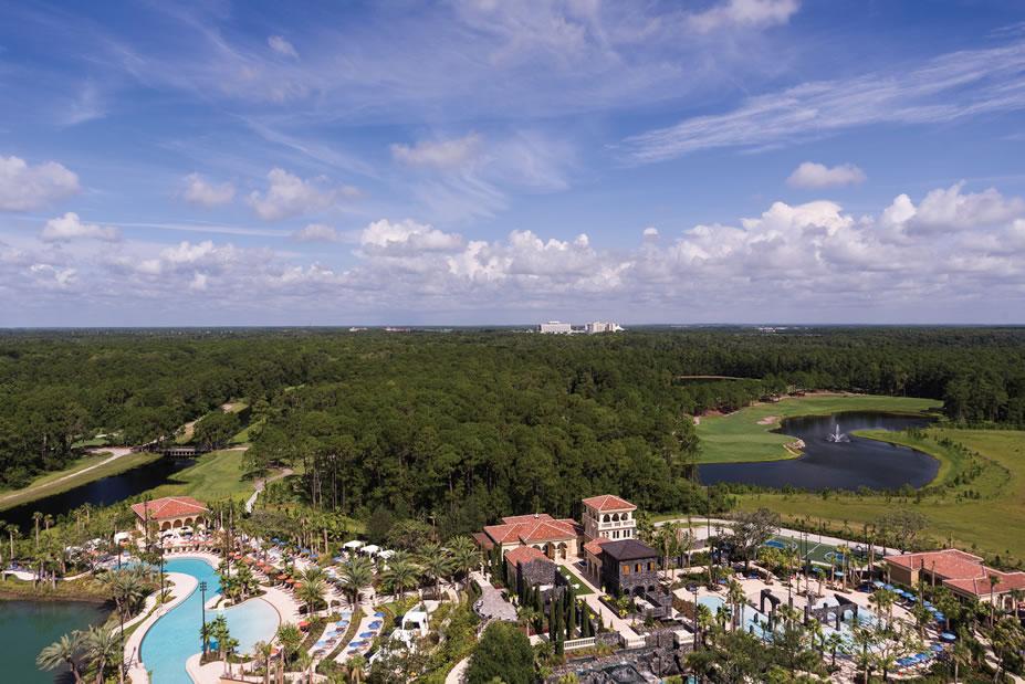 Aerial -©Four Seasons Resort Orlando at Walt Disney World® Resort