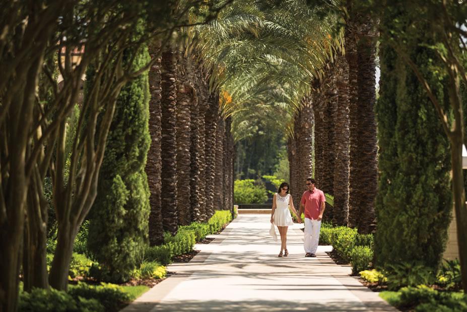 Palm Pathway -©Four Seasons Resort Orlando at Walt Disney World® Resort