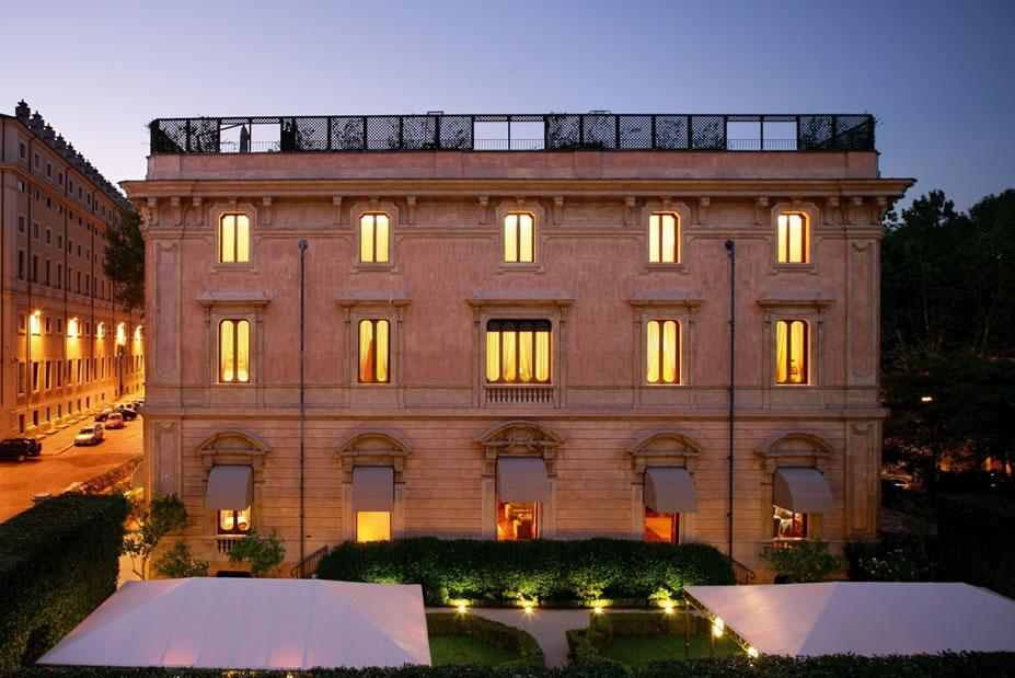 Rome Babymoon at Villa Spalletti Trivelli, Italy
